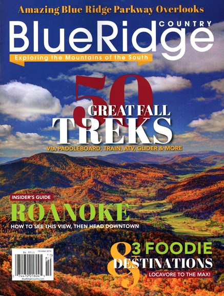 Blue Ridge Country Cover - 10/1/2014