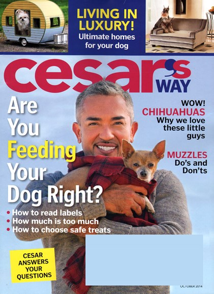 Cesar's Way Cover - 10/1/2014
