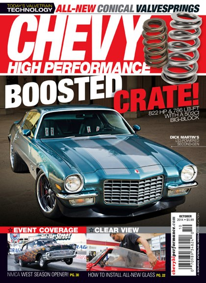 Chevy High Performance Cover - 10/1/2014