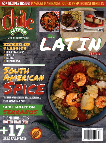 Chile Pepper Cover - 10/1/2014