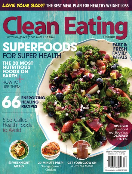 Clean Eating Cover - 10/1/2014