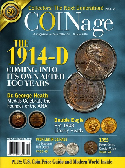 Coinage Cover - 10/1/2014