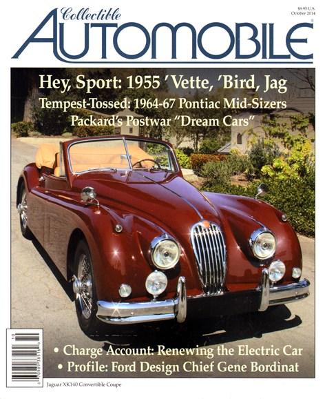 Collectible Automobile Cover - 10/1/2014