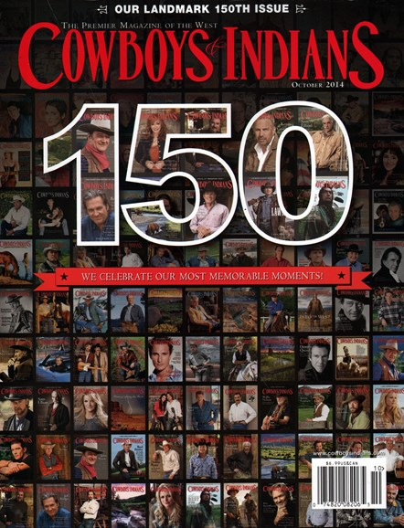 Cowboys & Indians Cover - 10/1/2014