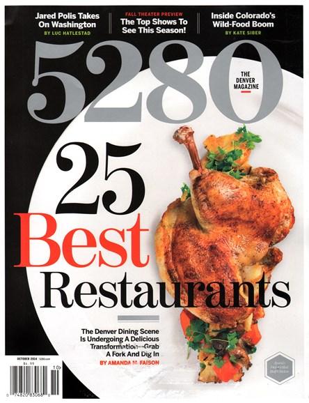 5280 Magazine Cover - 10/1/2014