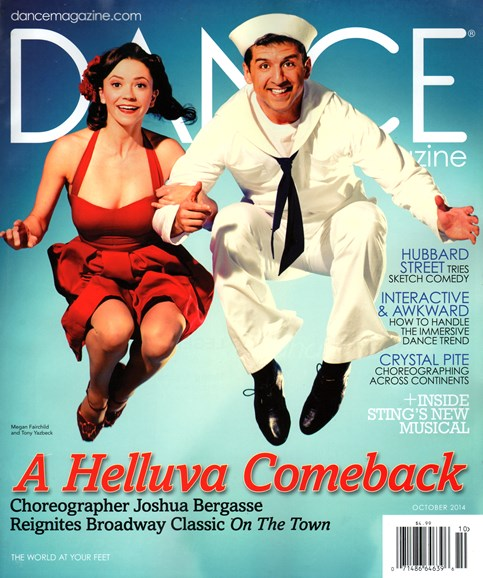 Dance Magazine Cover - 10/1/2014