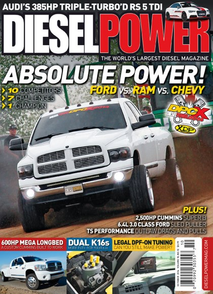Diesel Power Cover - 10/1/2014