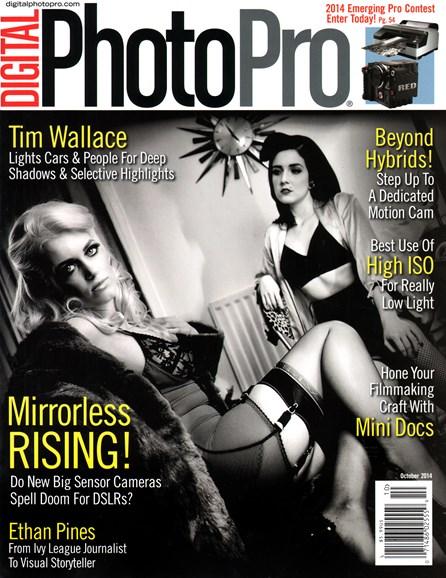 Digital Photo Pro Cover - 10/1/2014