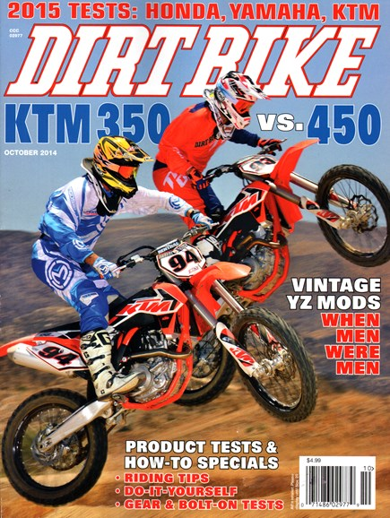 Dirt Bike Cover - 10/1/2014