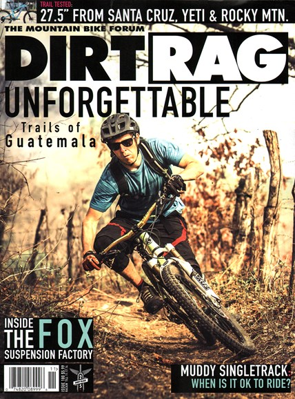 Dirt Rag Cover - 10/1/2014