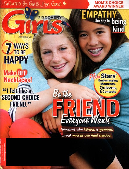 Discovery Girls Cover - 10/1/2014