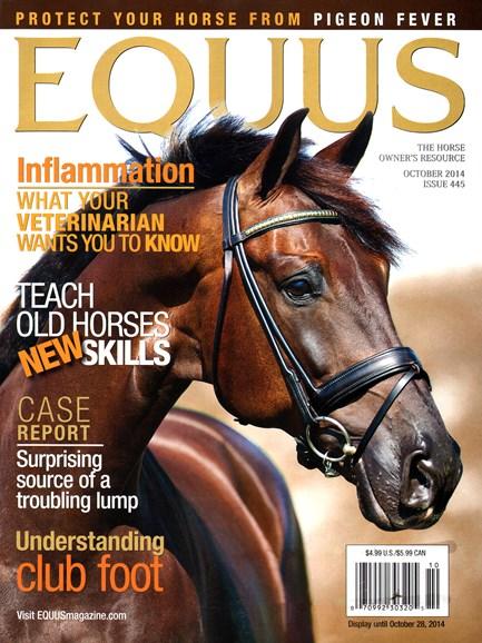 Equus Cover - 10/1/2014