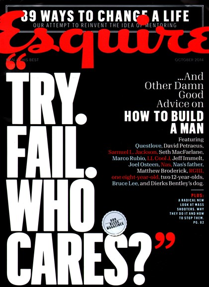 Esquire Cover - 10/1/2014