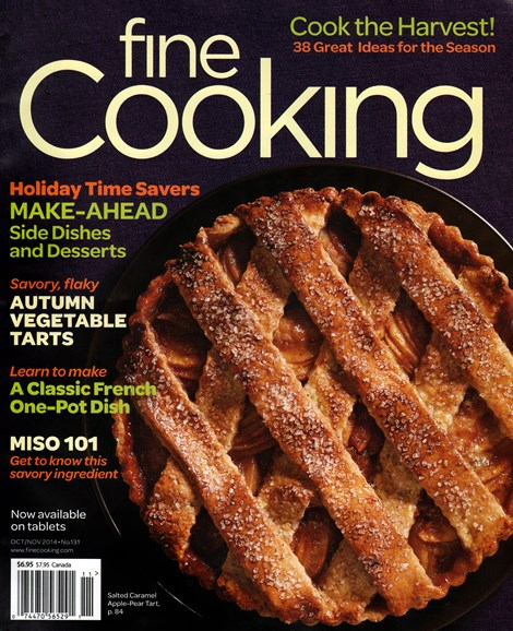 Fine Cooking Cover - 10/1/2014