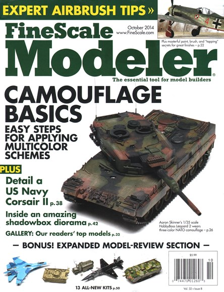 Finescale Modeler Cover - 10/1/2014