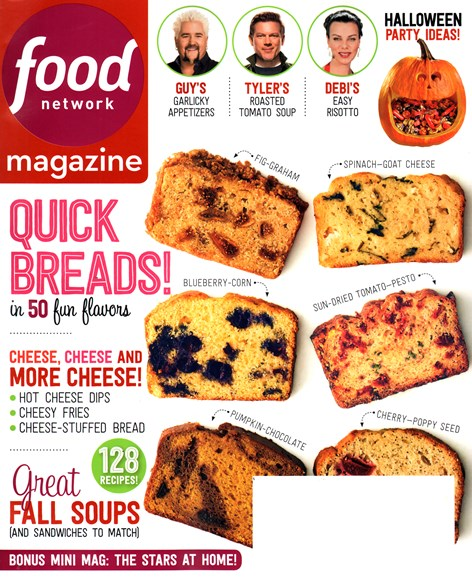 Food Network Cover - 10/1/2014