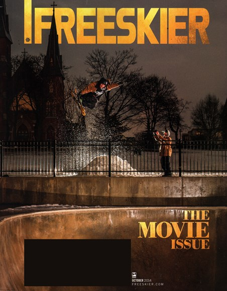 Freeskier Cover - 10/1/2014
