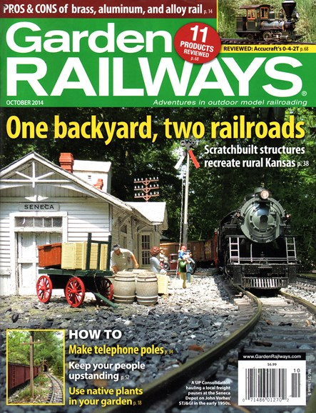 Garden Railways Cover - 10/1/2014