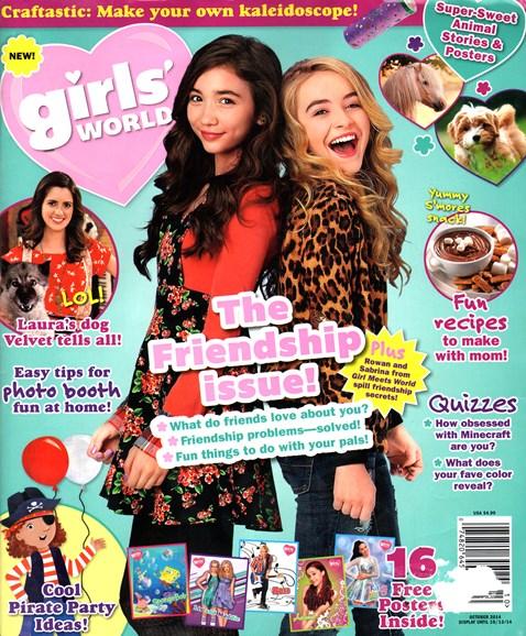 Girls' World Cover - 10/1/2014