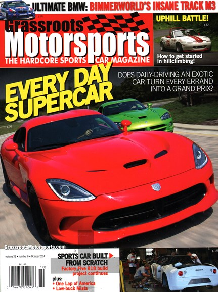 Grassroots Motorsports Cover - 10/1/2014
