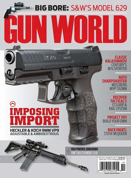 Gun World Cover - 10/1/2014