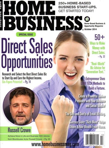Home Business Magazine Cover - 10/1/2014