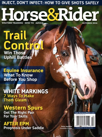 Horse & Rider Cover - 10/1/2014