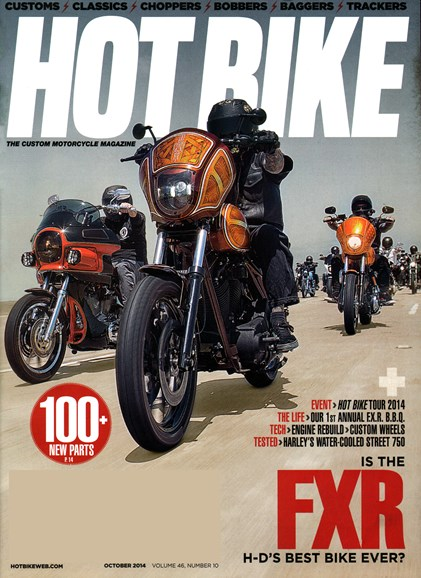Hot Bike Cover - 10/1/2014