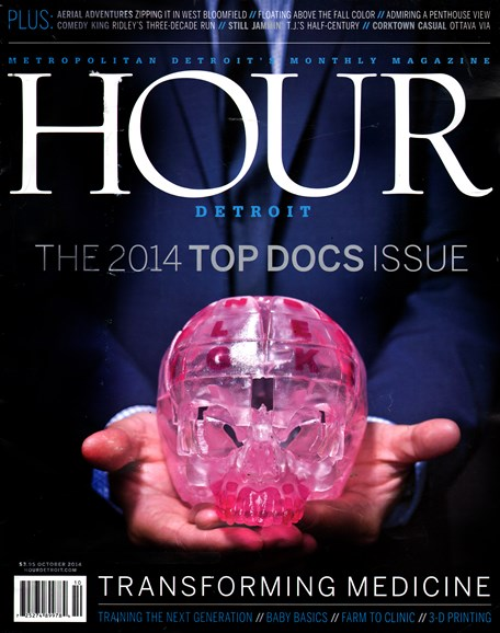 Hour Detroit Cover - 10/1/2014