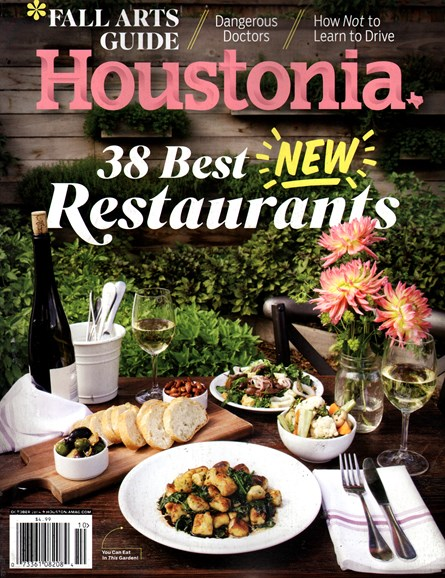 Houstonia Cover - 10/1/2014