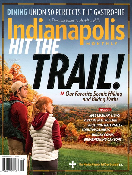 Indianapolis Monthly Cover - 10/1/2014
