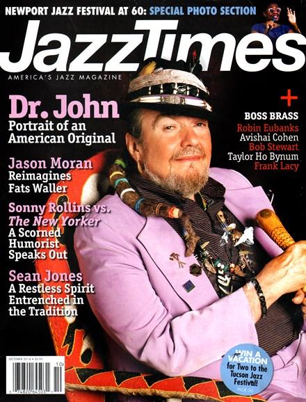 JazzTimes Cover - 10/1/2014
