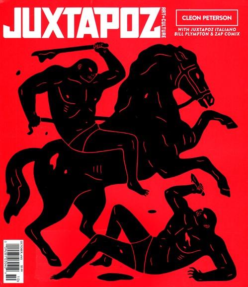 Juxtapoz Cover - 10/1/2014