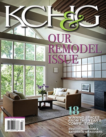 Kansas City Homes & Gardens Cover - 10/1/2014