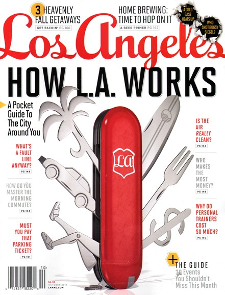 Los Angeles Cover - 10/1/2014