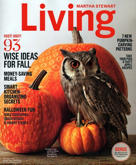 Martha Stewart Living Cover - 10/1/2014