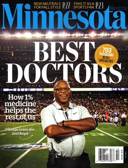 Minnesota Monthly Cover - 10/1/2014