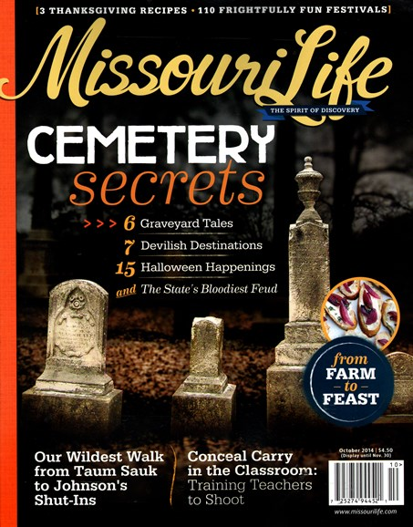 Missouri Life Cover - 10/1/2014