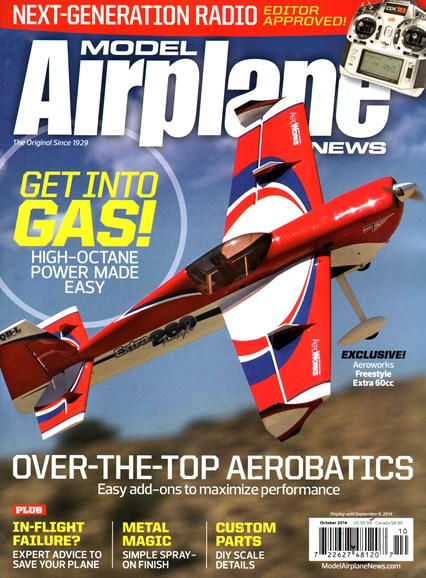 Model Airplane News Cover - 10/1/2014