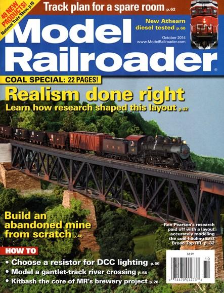 Model Railroader Cover - 10/1/2014