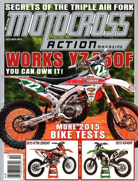 Motocross Action Cover - 10/1/2014
