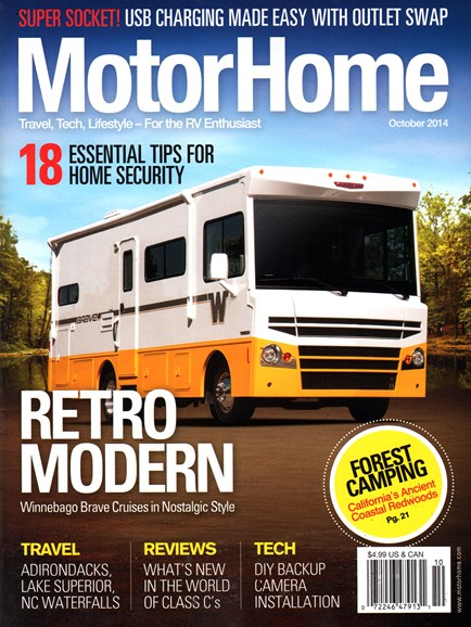 MotorHome Cover - 10/1/2014