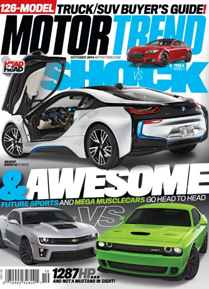 Motor Trend Cover - 10/1/2014