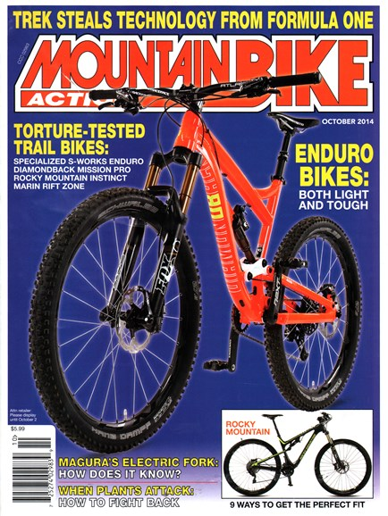 Mountain Bike Action Cover - 10/1/2014