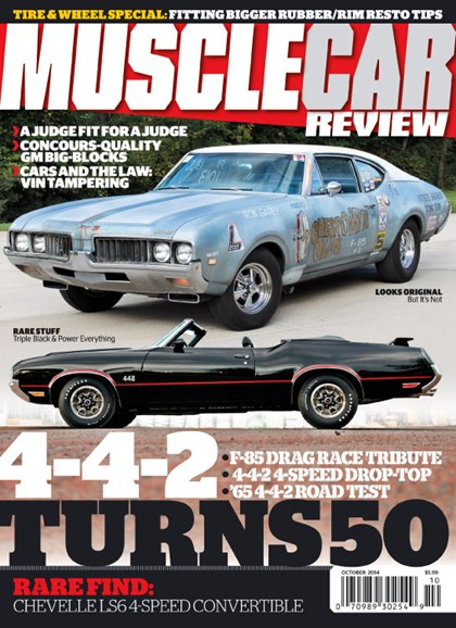 Muscle Car Review Cover - 10/1/2014