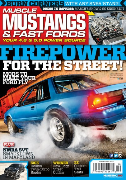 Muscle Mustangs & Fast Fords Cover - 10/1/2014
