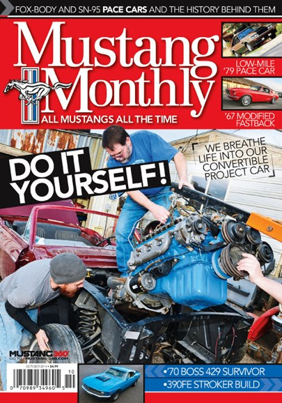 Mustang Monthly Cover - 10/1/2014