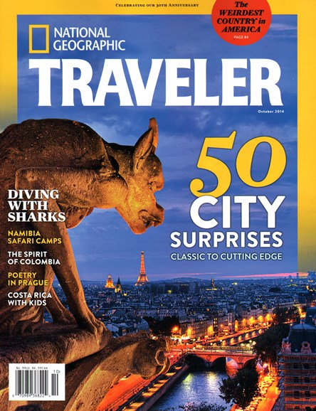 National Geographic Traveler Cover - 10/1/2014