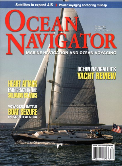 Ocean Navigator Cover - 10/1/2014