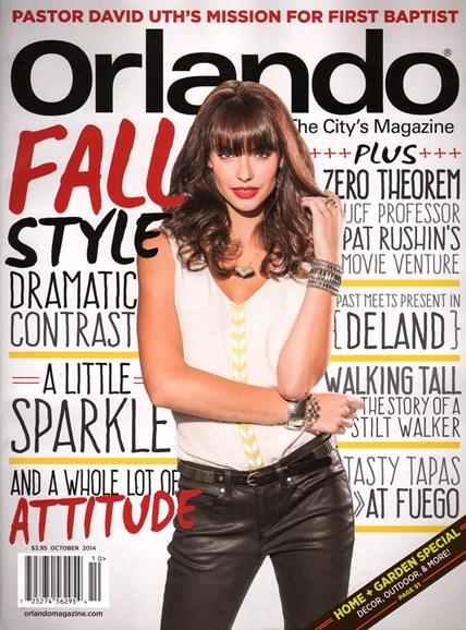 Orlando Magazine Cover - 10/1/2014